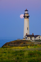 Birthday Moon at the Lighthouse
