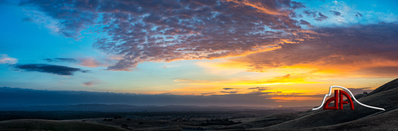 Concord Valley Sunset - Panorama