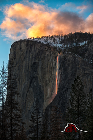 Yosemite's Natural Firefall