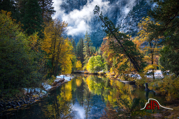 Fall on the Merced - Yosemite National Park