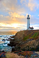 A California Sunset - Pigeon Point Lighthouse