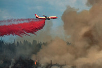 747 Global SuperTanker battles Mission Fire