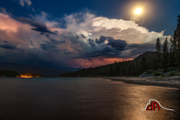 Lighting Storm - Bass Lake, California